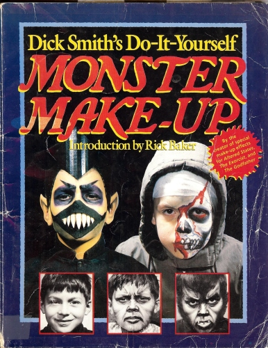 Cover of my Disk Smith's Do-It-Yourself Monster Makeup Handbook