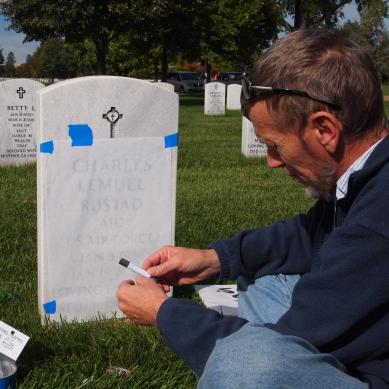 gravestone rubbing 2
